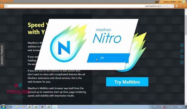 متصفح mxnitro عربي