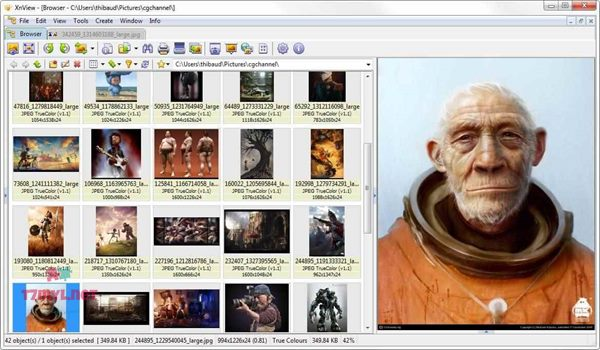 برنامج xnview image viewer